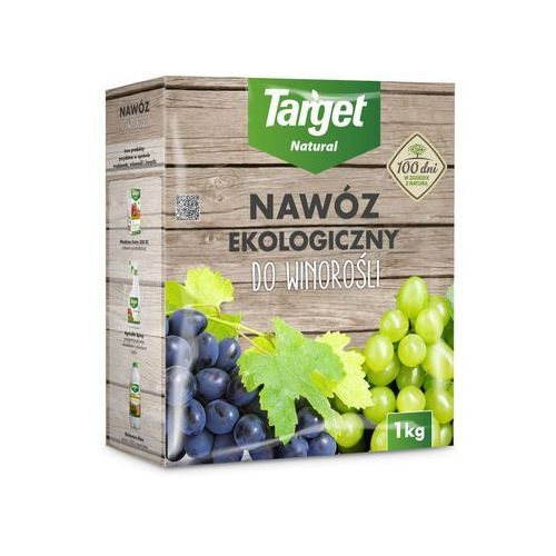 Target natural Nawóz do winorośli ekologiczny 1 kg