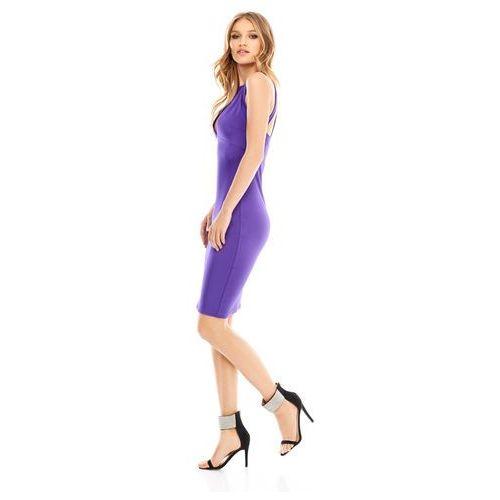 Sukienka izzi w kolorze fioletowym marki Sugarfree