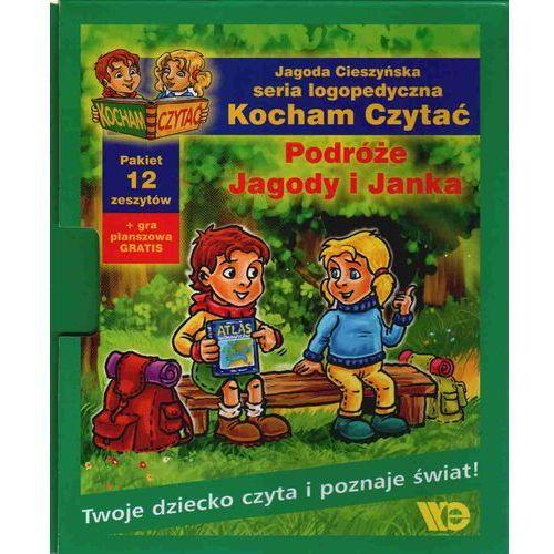KOCHAM CZYTAĆ. PAKIET. PODRÓŻE JAGODY I JANKA (2012)