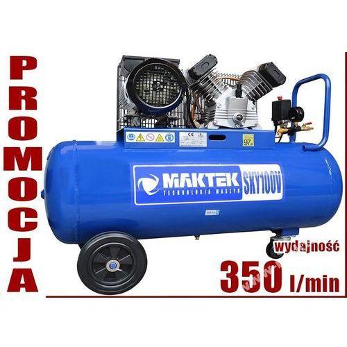 SPRĘŻARKA TŁOKOWA KOMPRESOR TŁOKOWY OLEJOWY MAKTEK SKY 100 V2, towar z kategorii: Sprężarki i kompresory