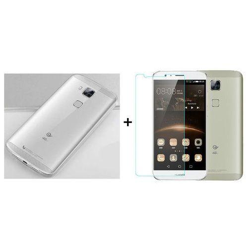 Zestaw Obudowa Ultra Slim + Szkło hartowane Perfect Glass Huawei G8