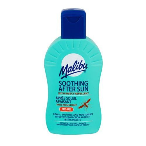 Malibu after sun insect repellent preparaty po opalaniu 200 ml unisex (5025135111754)