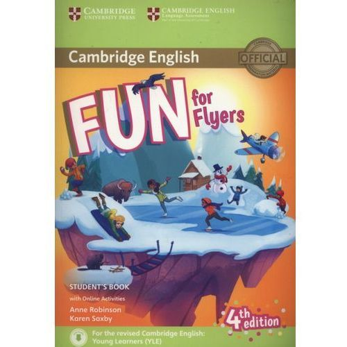 Fun for Flyers Student's Book + Online Activities (9781316632000)