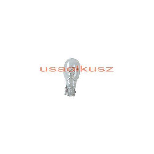 Biała jednowłóknowa żarówka w16w12v - trzonek w2,1x9,5d stop marki Rozni