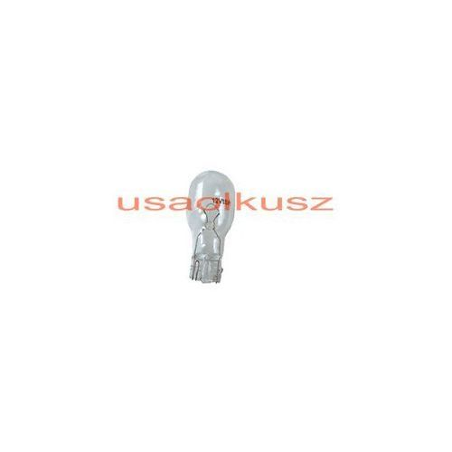 Biała jednowłóknowa żarówka W16W12V - trzonek W2,1x9,5d STOP