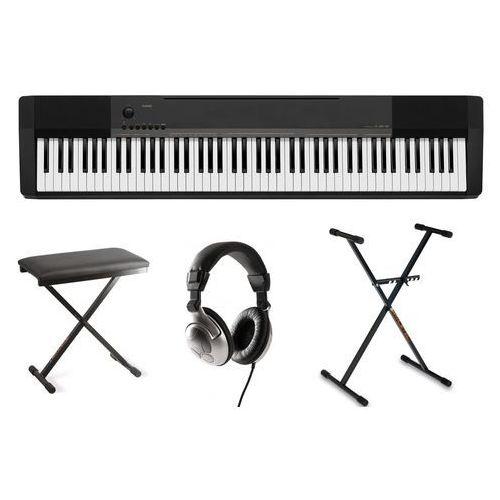 CASIO CDP-130 BK zestaw do nauki gry na pianinie ZS1