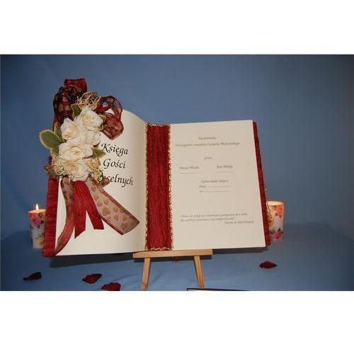 Księga wpisu gości DUŻA Bordo (5908260210830)