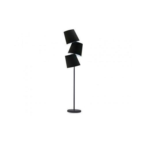 Lampa podłogowa Svea Black AZzardo (5901238410232)