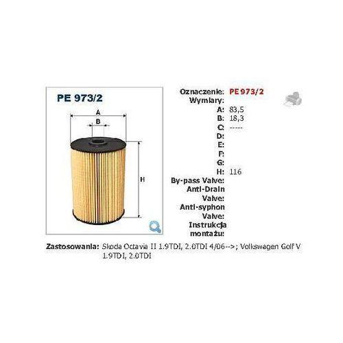 Filtron Pe973/2 filtr paliwa audi/vw tdi 03- (5904608049735)