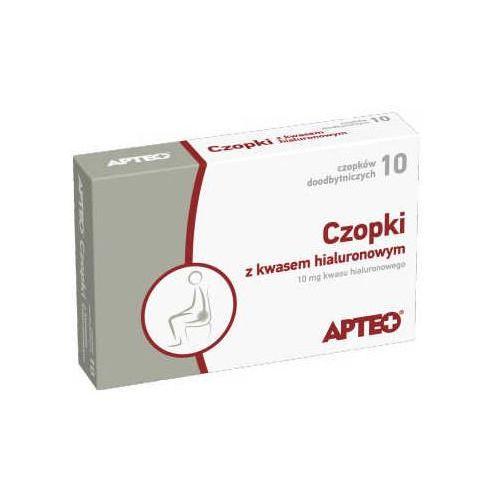 Synoptis pharma Apteo czopki z kwasem hialuronowym x 10 sztuk