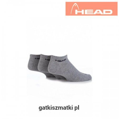 Skarpety sneaker szare marki Head