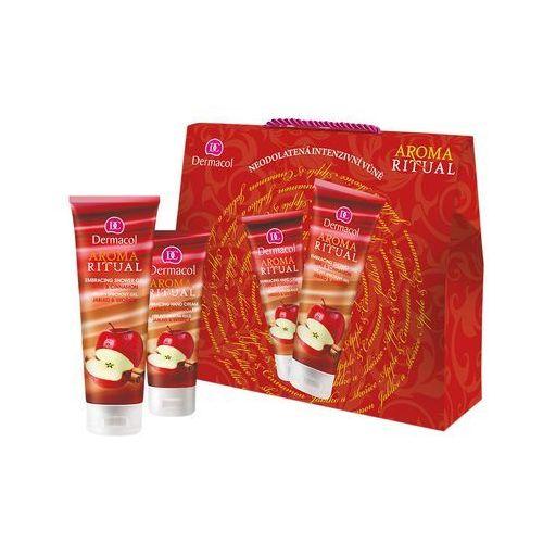 Dermacol aroma ritual apple & cinnamon zestaw 250 ml dla kobiet