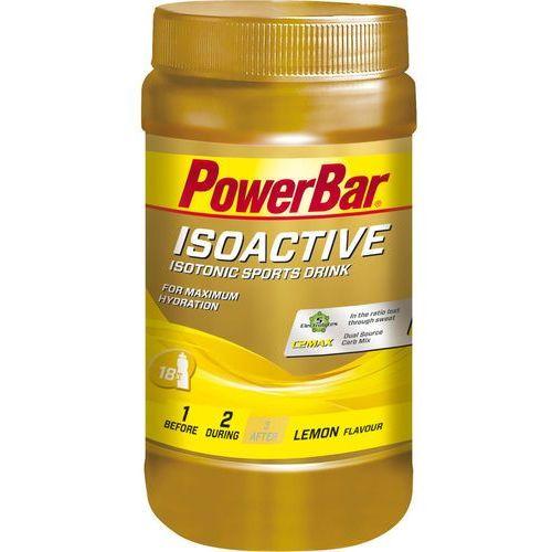 PowerBar Isoactive Żywność dla sportowców Lemon 600g żółty/złoty 2018 Suplementy (4029679996090)