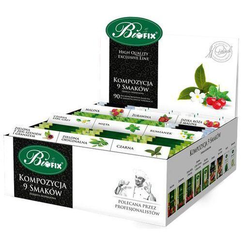Herbata a90 komp owocowa 9 smak* marki Biofix
