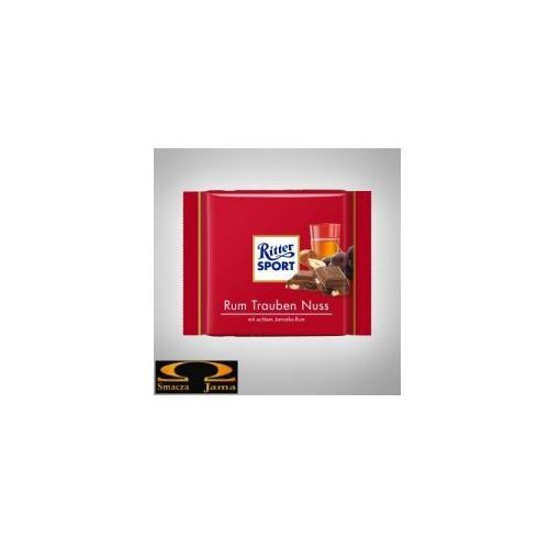 Ritter sport czekolada 100g rumowa (4000417012005)