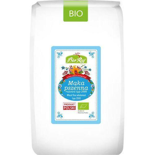 Bio raj (konfekcjonowane) Mąka pszenna razowa typ 2000 bio 1 kg - bio raj