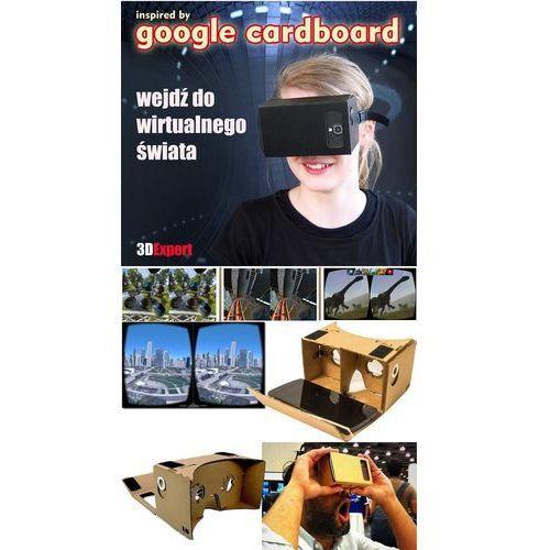 Okulary wirtualnej rzeczywistości 3D Cardboard + pasek + NFC (5905279786035)