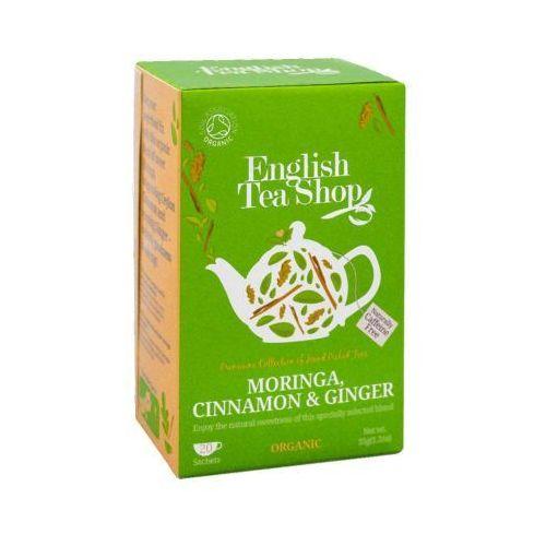 Ets moringa cinnamon & ginger 20 saszetek marki English tea shop