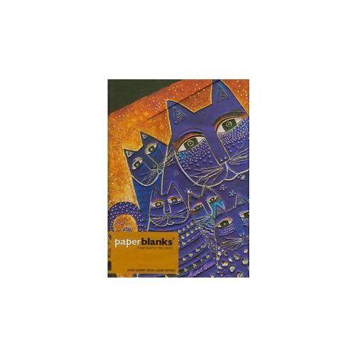 Notatnik Midi Mediterranean Cats Wrap w linie, Paperblanks
