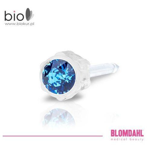 Kolczyk do przekłuwania uszu Blomdahl - Sapphire 4 mm