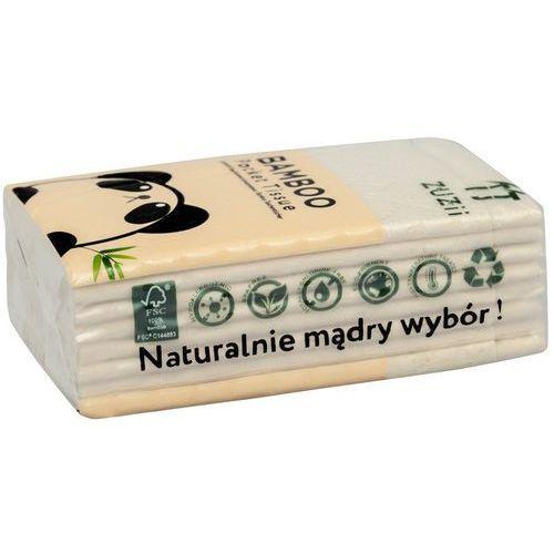 Zuzii Kieszonkowe chusteczki higieniczne z bambusa 4-warstwowe 1 szt.