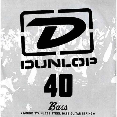 single string bass steel 040, struna pojedyncza marki Dunlop