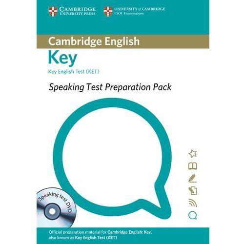 Speaking Test Preparation Pack for Key English Test (KET) with DVD, oprawa miękka