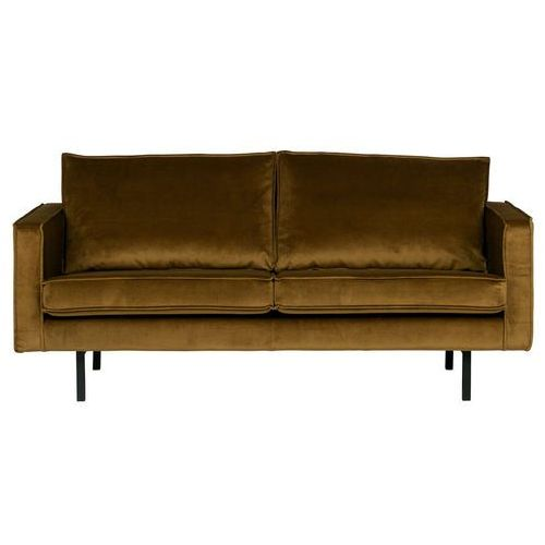 sofa rodeo 2,5 osobowa aksamitna miodowa 800542-14 marki Be pure