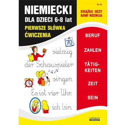 Niemiecki dla dzieci. Pierwsze słówka. Ćwiczenia. Zeszyt 10 + zakładka do książki GRATIS (2016)