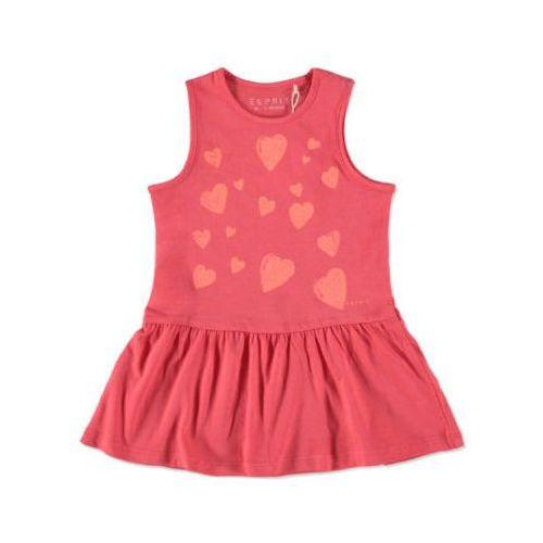 Esprit  girls sukienka corallred