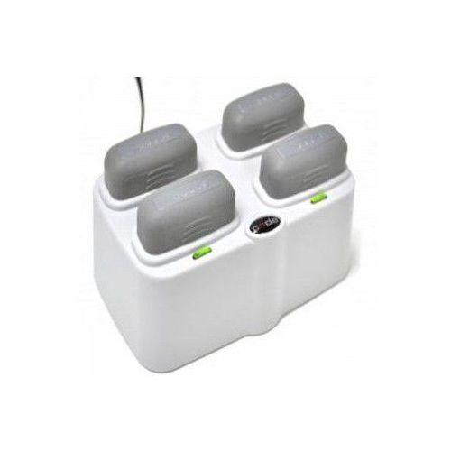4-portowa ładowarka baterii z zasilaczem do czytnika Code CR2600