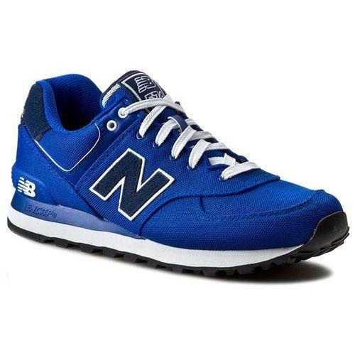 Sneakersy NEW BALANCE - Classics ML574POB Niebieski, w 3 rozmiarach