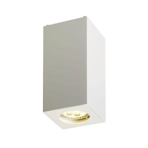 Spot LAMPA sufitowa SQUAR 13 70034101 Kaspa metalowa OPRAWA natynkowa prostokątna biały