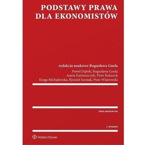 Podstawy prawa dla ekonomistów, Bogusława Red Gnela