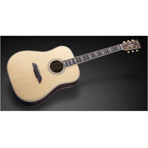 Framus fd 28 jn sr vnt - jorg nassler signature - vintage transparent satin natural tinted gitara akustyczna