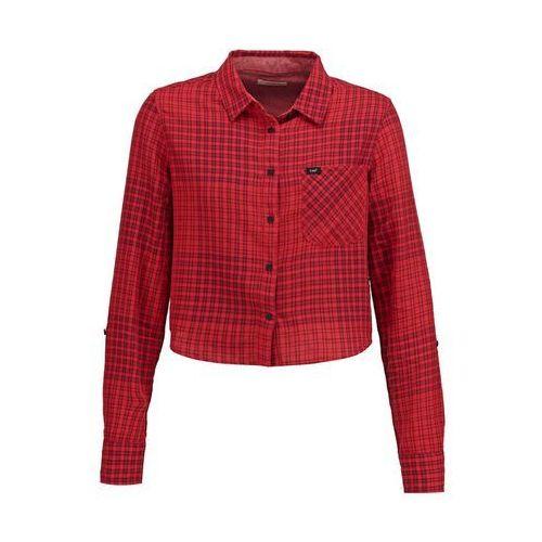 Lee Koszula lava red - oferta [0545d54ee3af254f]