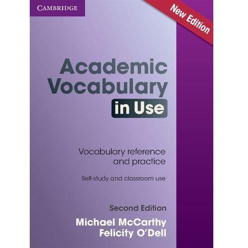 Academic Vocabulary in Use. Książka z Odpowiedziami 2ED, oprawa miękka
