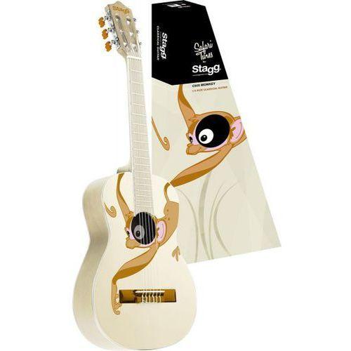 Stagg c-505-monkey - gitara klasyczna 1/4