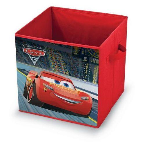 Domopak living pudełko do przechowywania z motywem disney cars, 32 x 32 x 32 cm marki 4home