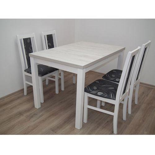 ZESTAW DO KUCHNI/SALONU/JADALNI stół 80/120/150 + 4 krzesła
