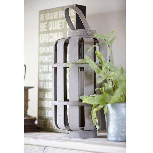 Lampion szklany w rattanowej obudowie This & That 4 - produkt dostępny w Seart - Meble z Drewna