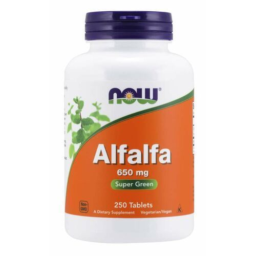 Now foods alfalfa 650 mg 250 tab
