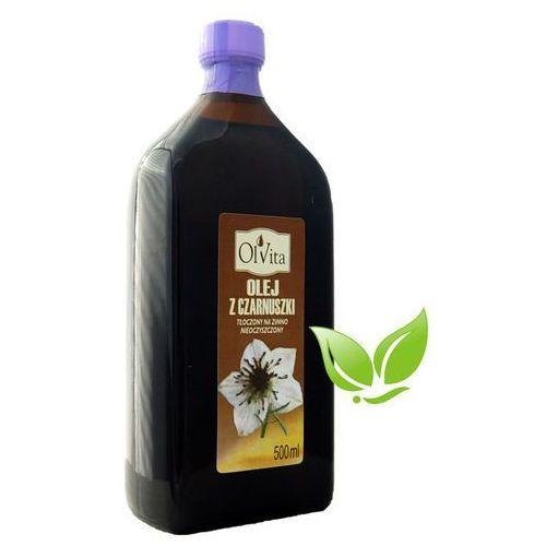 Olvita Olej z czarnuszki zimnotłoczony nieoczyszczony 500ml (5903111707217)