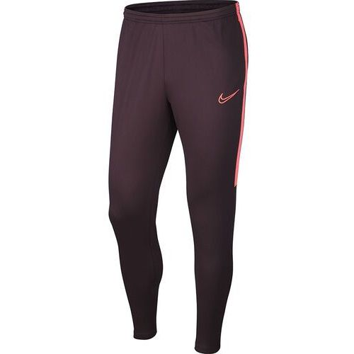 Nike Spodnie męskie dri-fit academy pant bordowe aj9729 659