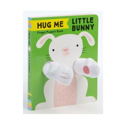 Hug Me Little Bunny: Finger Puppet Book (9781452175225)