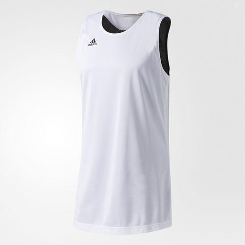 Koszulka reversible crazy explosive - cd8699 - biało-czarna marki Adidas