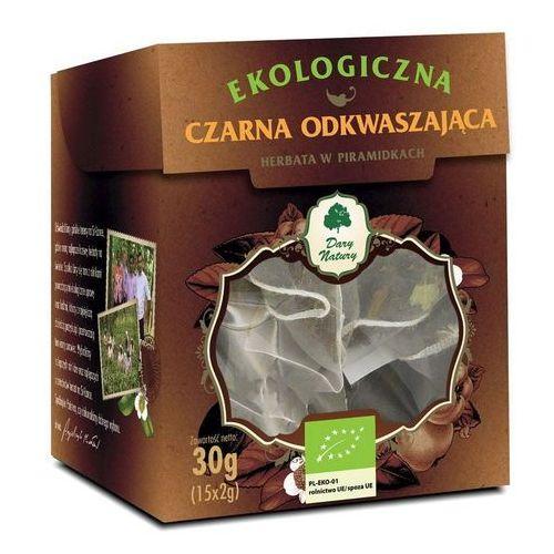 Dary natury - test Herbata czarna odkwaszająca piramidki bio (15 x 2 g) - dary natury (5902581617309)