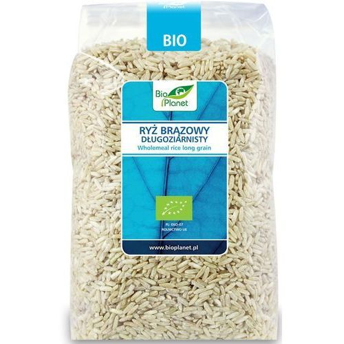 Bio Planet: ryż brązowy długoziarnisty BIO - 1 kg (5907814666369)