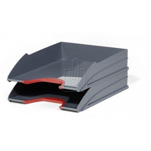 Zestaw dwóch półek varicolor czerwone 7702-03 marki Durable