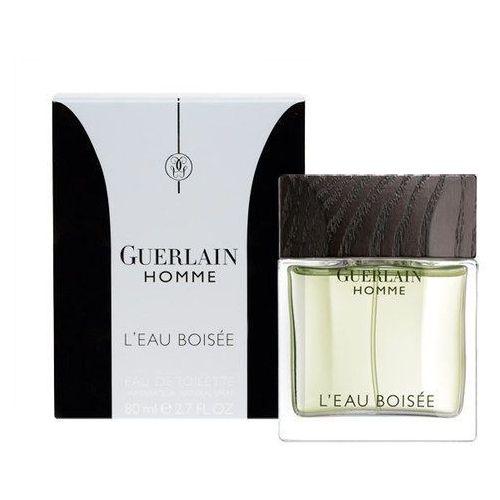 Guerlain L´Homme L´Eau Boisée 80ml M Woda toaletowa Tester (3346475503699)